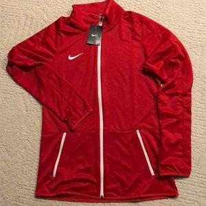Nike ladies jacket full zip size M